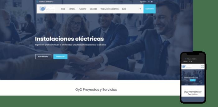 wordpress página web