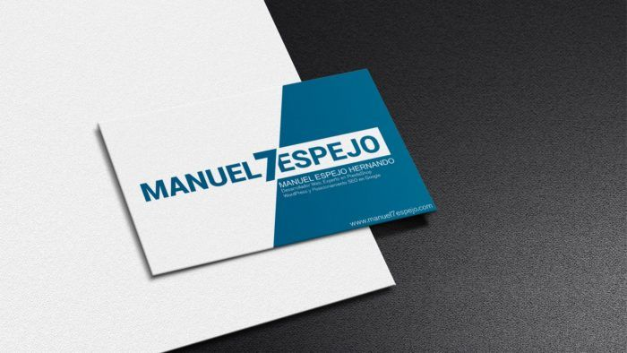 Manuel Espejo Diseño web Madrid