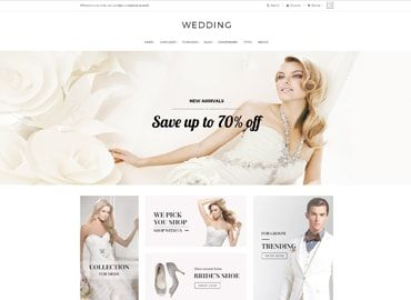 plantilla prestashop wedding