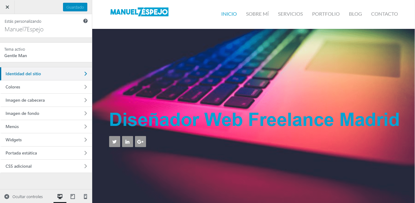 tutorial wordpress personalizar