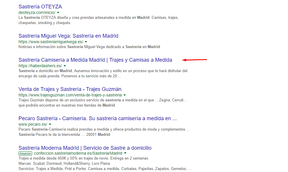 posicionamiento web en madrid
