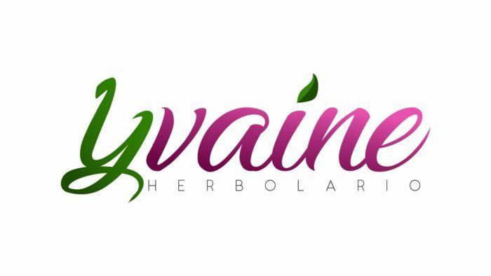 diseño grafico logo Yvaine