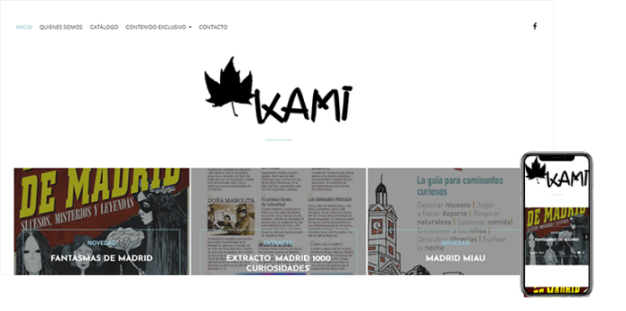 wordpress madrid kami