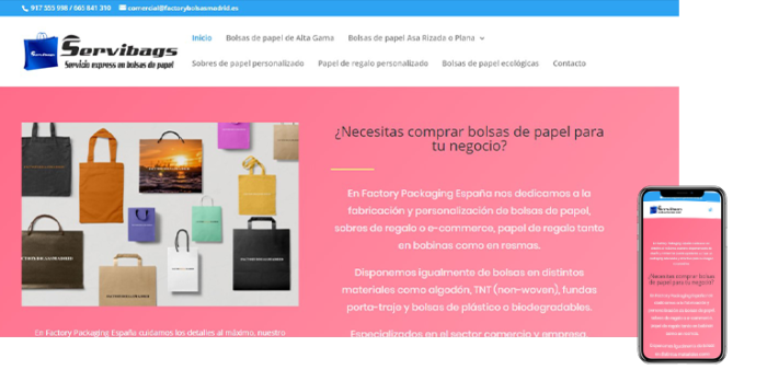 wordpress factory bolsas